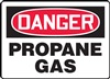 Danger Sign - Propane Gas