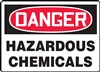 Danger Sign - Hazardous Chemicals
