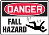 Danger Sign - Fall Hazard