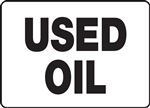 Safety Sign - Used Oil