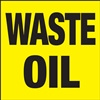 Waste Oil Label