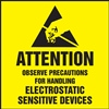 AttentionObserve Precautions Label | HCL Labels
