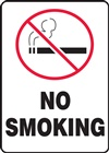 Safety Zone Sign - No Smoking