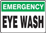 Safety Sign - Emergency Wash