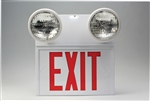 Exit Sign (Lighted And Emergency Lights)