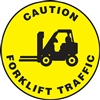 Caution Sign -  Forklift Traffic Mark