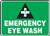 Safety Sign - Emergency Eye Wash Area