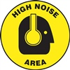 Floor Sign - High Noise Area