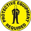 Floor Sign - Protective Equipment Required