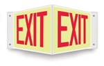 Safety Sign - Exit (Projecting )