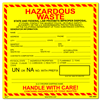 Hazardous Waste (CA/Federal) Containment Label