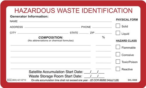 Accumulation Label | HCL Labels, Inc.