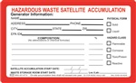 Satellite Accumulation Label | HCL Labels, Inc