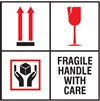 Fragile - Handle With Care Label | HCL Labels, Inc