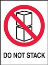 Do Not Stack Label | HCL Labels, Inc
