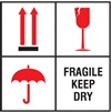 Fragile Keep Dry Label | HCL Labels, Inc