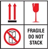 Fragile - Do Not Stack Label | HCL Labels, Inc