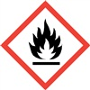 Flame GHS Pictogram Label