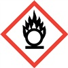 Oxidizer GHS Pictogram Label