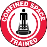 Confined Space Trained - Hard Hat Decal