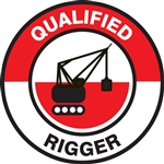 Qualified Rigger - Hard Hat Decal