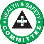 Health & Safety Committee - Hard Hat Decal