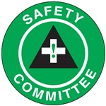 Safety Committee - Hard Hat Decal