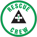 Rescue Crew - Hard Hat Decal