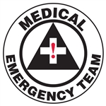 Medical Emergency Team - Hard Hat Decal
