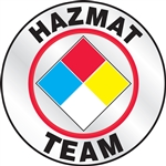 Hazmat Team - Hard Hat Decal