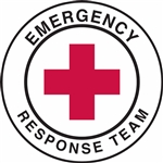 Emergency Response Team - Hard Hat Decal