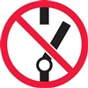 Do Not Throw Switch Safety Symbol