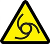 Automatic Or Remote Starting Hazard Safety Symbol