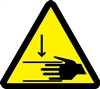Crush Hazard Safety Symbol