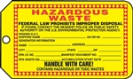 Hazardous Waste Tag