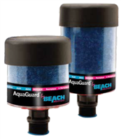 "Model BB-AG-3V   AquaGuard Hybrid Disposable 4"" x 8.1"" Desiccant Breather (w/check valves) for Gearbox Applications-1"" NPT - (Case of 6)"