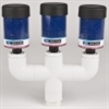 Model BB-ME-3-T - Breather Manifold - Designed for a Quantity of Three (3) Breathers