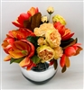 Orange Flower Arrangement (AVAILABLE)