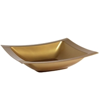 Gold 12oz Rectangular Soup Bowl (10pcs)