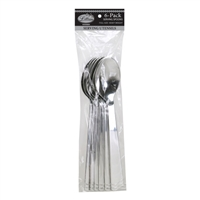Silver Serving Spoons (6pcs)