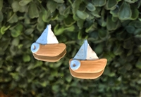 Blue Mini Boat