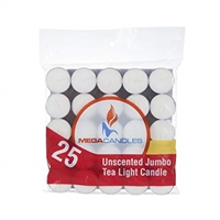 Jumbo Tea Light Candles