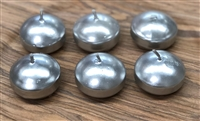 Silver Floating Candles 2""