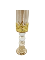 Medium Gold Candle-Holder