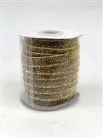 Gold Elastic Ribbon