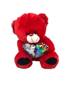 Red Teddy Bear w/ Sequin