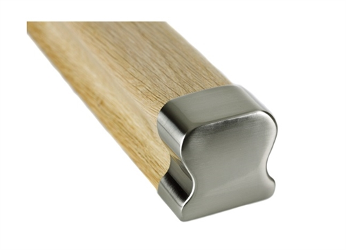 Hdr Brushed Handrail End Cap