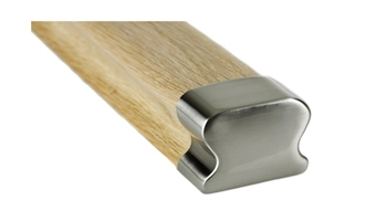 LHR Brushed Handrail End Cap