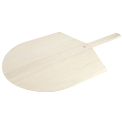 "Pizza Peel, 16"" x 17"" Blade - Wood - 2616 by American Metalcraft."