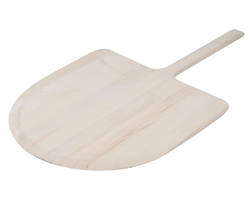 "Pizza Peel, 18"" x 17 1/2"" Blade - Wood - 3218 by American Metalcraft."